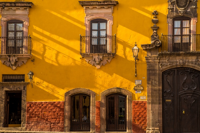 Red and Yellow, San Miguel de Allende, Mexico