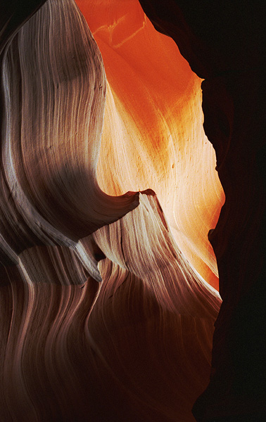 Glowing Antelope Canyon