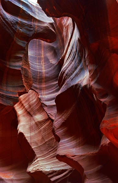 Antelope Canyon with Purple Overtones