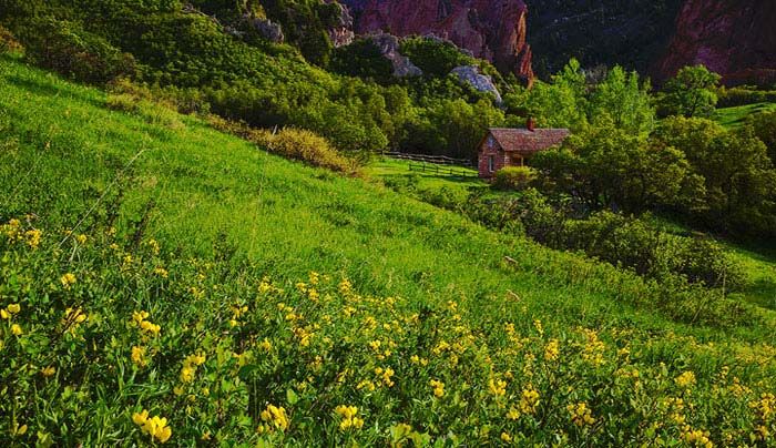 Perse House in the Evening-Roxborough State Park