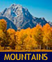 thumbnail of mount moran and aspen trees at grand teton national park linking to Mountains Photo Gallery